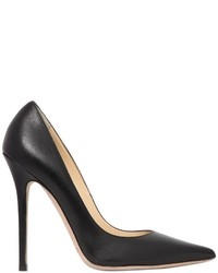 Jimmy Choo 120mm Anouk Leather Pumps