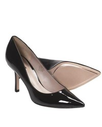 Joan and David Amery Pumps Patent Leather Black