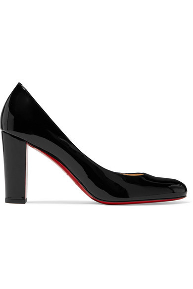 designer fashion best quality good Christian Louboutin Lady Gena 85 Patent Leather Pumps, $675 | NET ...