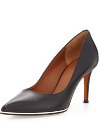 Givenchy Leather Pointed Toe Pump Black