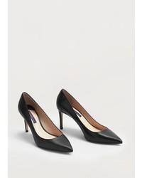 Violeta BY MANGO Leather Pumps
