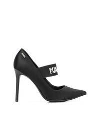 Karl Lagerfeld Manoir Hi Court Pumps
