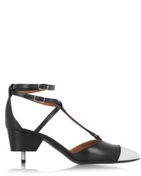 Givenchy Maremma Leather Point Toe Pumps Black