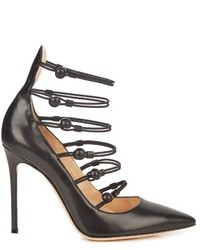 Gianvito Rossi Marquis Leather Pumps