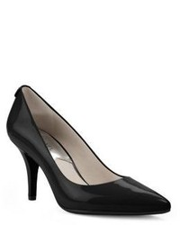 Michael Kors Michl Kors Flex Patent Leather Mid Heel Pump