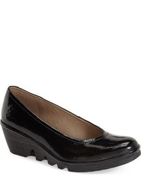 Fly London Mid Wedge Pump