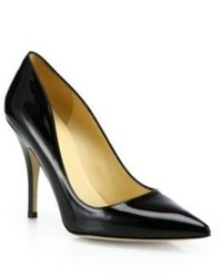 Kate Spade New York Licorice Patent Leather Pumps