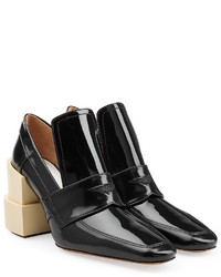 Maison Margiela Patent Leather Pumps With Statet Heel