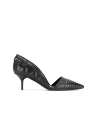 Burberry Quilted Dorsay Pumps