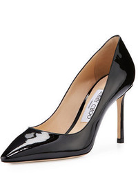 Jimmy Choo Romy Patent Pointed Toe 85mm Pump