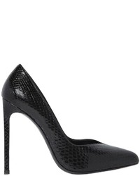 Saint Laurent 120mm Paris Embossed Leather Pumps