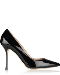 Sergio Rossi Secret Patent Leather Pumps