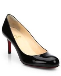 Christian Louboutin Simple Patent Leather Pump