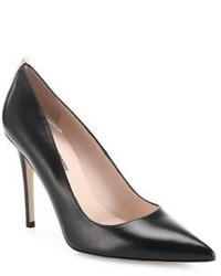 Sarah Jessica Parker Sjp By Fawn Leather Point Toe Pumps