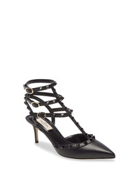 Valentino Garavani T  Pointed Toe Pump