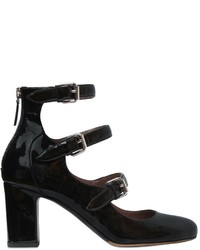 Tabitha Simmons 75mm Ginger Patent Leather Pumps