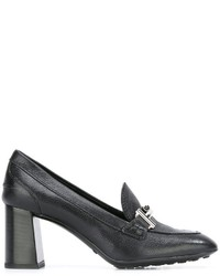 Tod's Double T Buckle Pumps