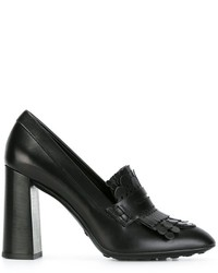 Tod's Scalloped Detail Pumps