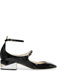Jimmy Choo Wilbur Patent Leather Pumps Black