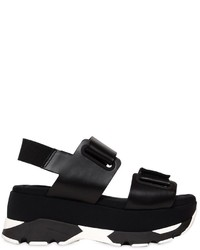 Marni 80mm Laser Cut Leather Sandals