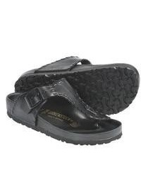 Birkenstock Ramses Sandals Leather Black Leather