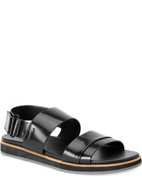 Calvin Klein Dex Leather Strap Sandals