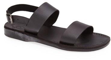 d54b3ad0e651 ... Jerusalem Sandals Golan Leather Sandal ...