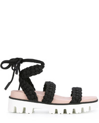 RED Valentino Lace Up Sandals