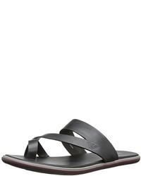 Armani Jeans Leather Sandal