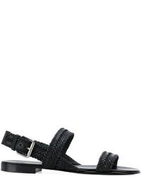 Giuseppe Zanotti Design Len Braided Strap Sandals