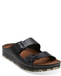 Clarks Originals Netrix Buck Leather Slide Sandal