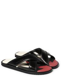 Alexander McQueen Patent Leather Sandals