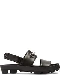 Gucci Sam Leather Sandals