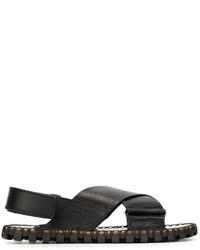 Valentino Crisscross Sandals