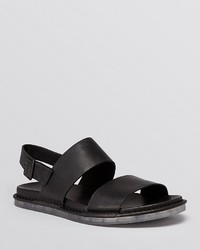 Vince Wilson Safari Crust Leather Sandals