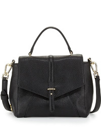 Tory Burch 797 Mini Leather Satchel Bag Black