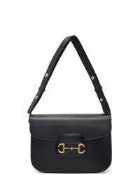 Gucci Black 1955 Horsebit Bag