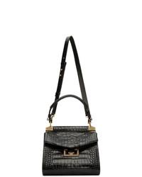 Givenchy Black Croc Small Mystic Bag