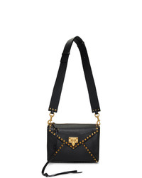 Valentino Black Garavani Medium Hype Shoulder Bag