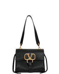 Valentino Black Garavani Small Vring Shoulder Bag