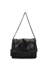 Marc Jacobs Black Leather The Pillow Bag