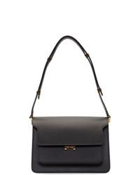 Marni Black Medium Smooth Trunk Bag