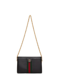 Gucci Black Small Ophidia Shoulder Bag