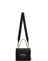 Alexander McQueen Black The Story Bag