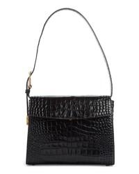 Balenciaga Calfskin Leather Shoulder Bag
