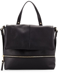 French Connection Charlie Hobo Messenger Bag Black