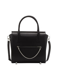 Alexander Wang Chastity Large Leather Satchel Bag Black