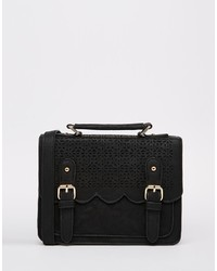 Asos Collection Mini Scallop Satchel Bag