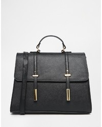 Asos Collection Tab Front Satchel Bag