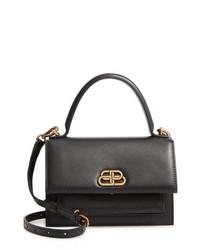 Balenciaga Extra Small Sharp Leather Satchel